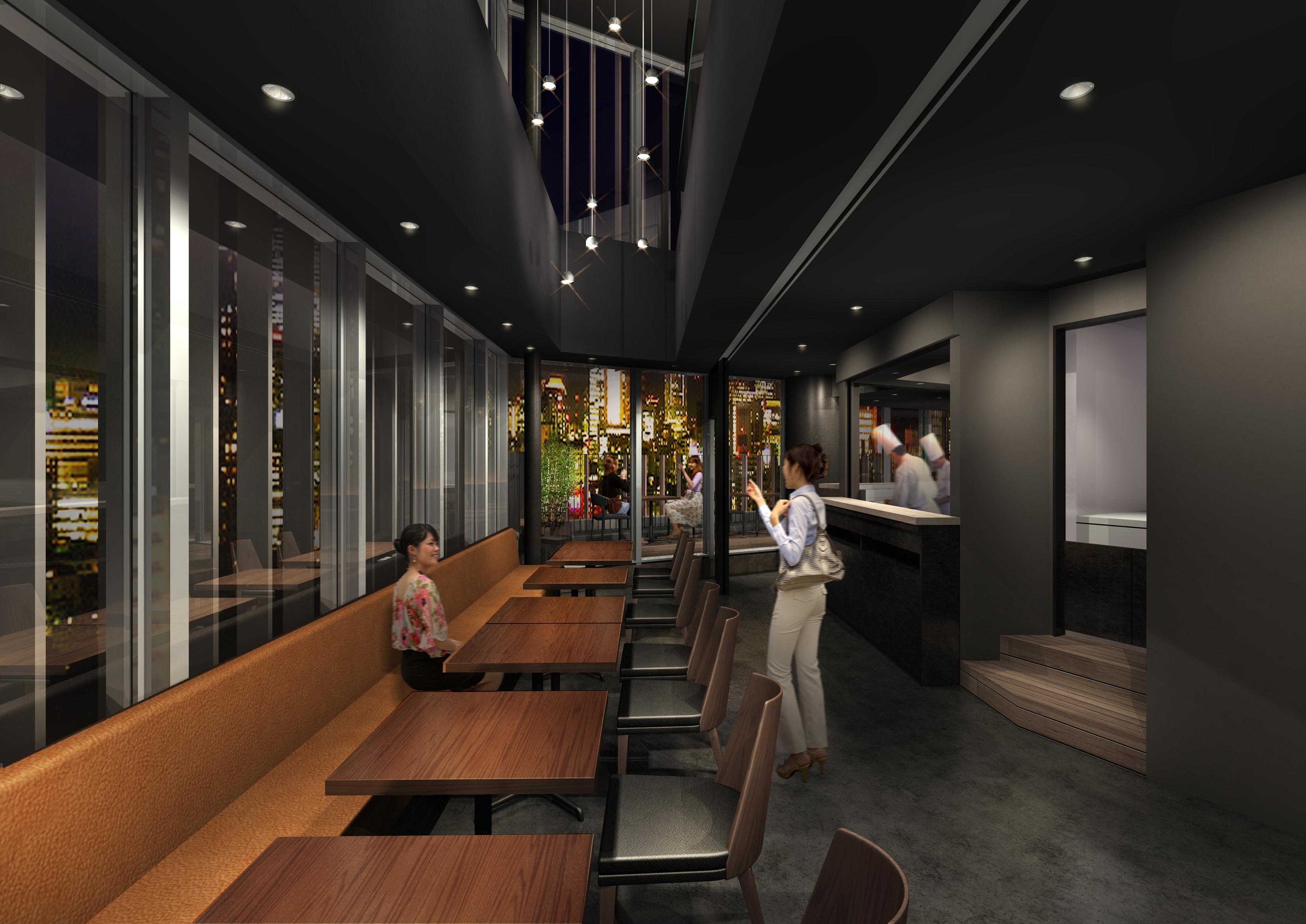 キュープラザ原宿に新業態ステーキ店SIXMARS Steak&Barオープン1