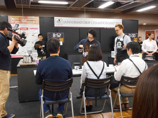 キャラバンコーヒー岡田和也がJHDC大会ドリップ競技一位を獲得!1