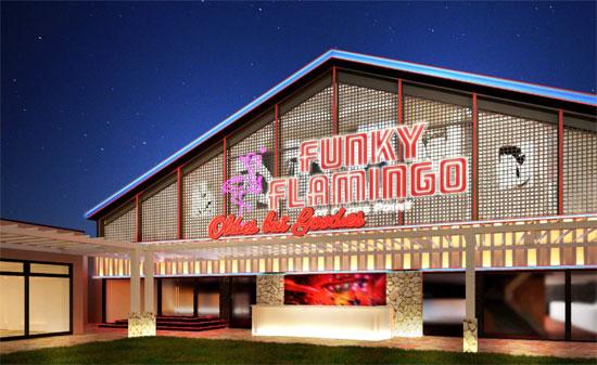 宮古島にライブレストラン「ファンキーフラミンゴ」がオープン1
