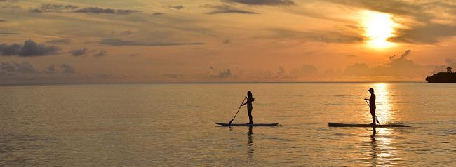 ホテルニラカナイ西表島で夕凪SLOW SUP1