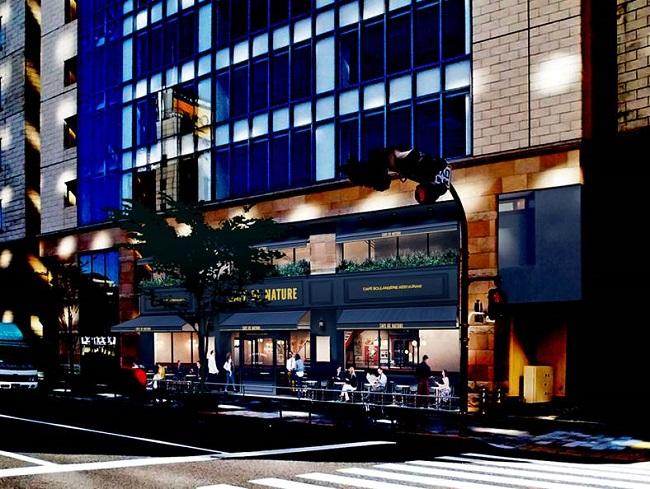 「CAFE DE NATURE」青山本社ビル新館1・2階に3月22日(水)オープン1