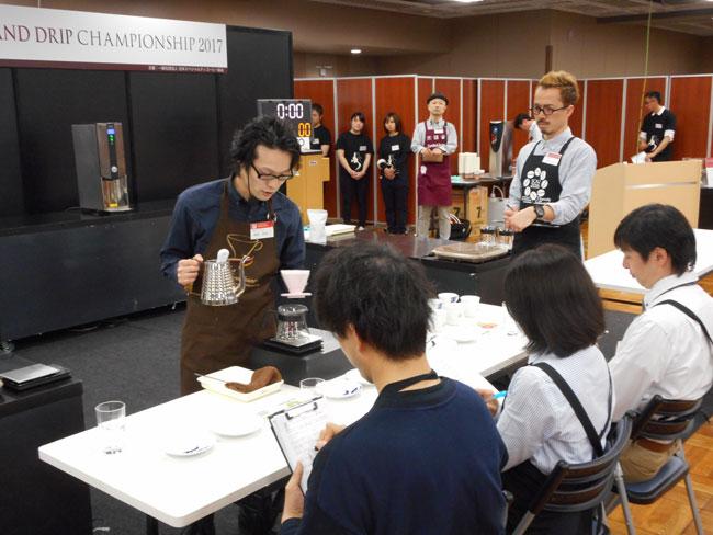 キャラバンコーヒー岡田和也がJHDC大会ドリップ競技一位を獲得!2
